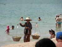 Typical Thai beach attire