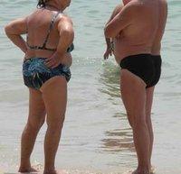 Typical farong beach attire