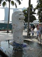 Singapore's Merlion mascot