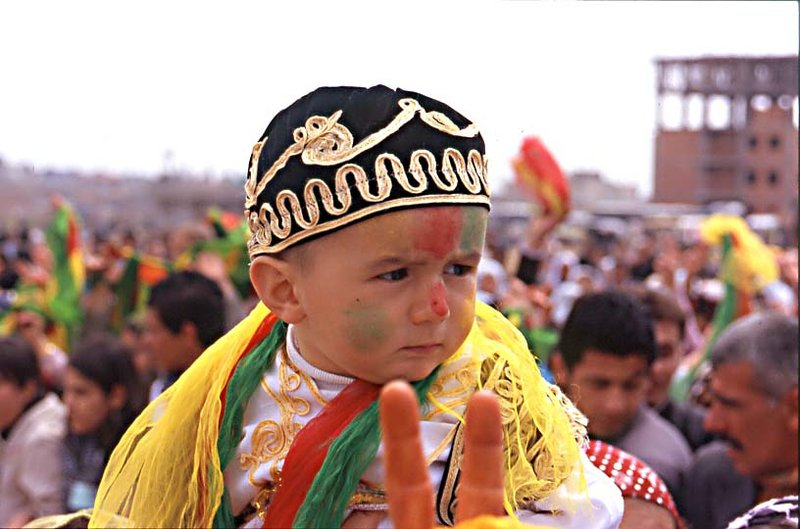 kurdish coloured kid