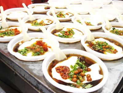 Another shot of Beijing's street food...