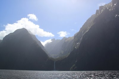 Classic view of Milford Sound