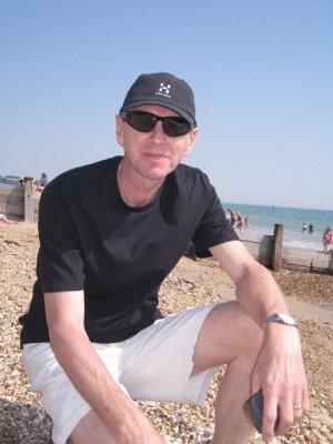 Frank on Hayling Beach