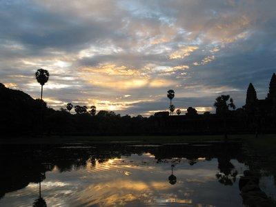 Leve du soleil a Angkor Wat