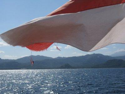 Vue sur Bali
