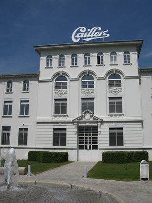 La chocolaterie Cailler's
