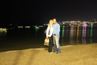 Bodrum Beach at Nite