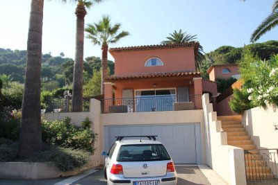 Our villa and our ride- Ste Maxime