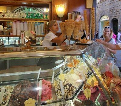 Un bel gelato- Florence