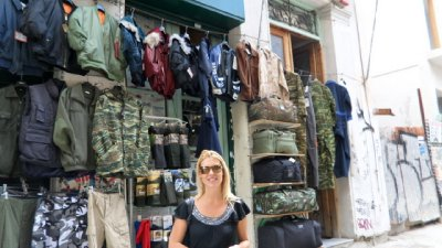 For Lee - who loves her Cammo seems like way too much of it around the markets