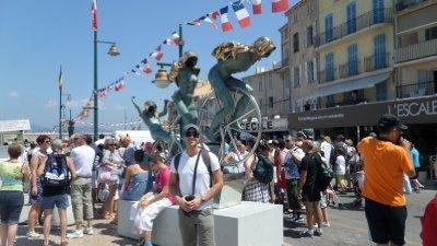St Tropez- Street Art