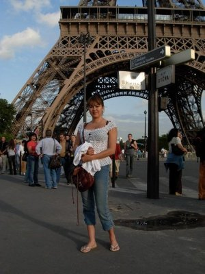 Me in Paris...