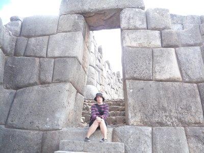 sachsayhuaman doorway