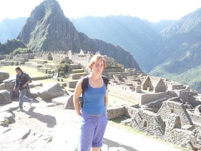 Moi at Machu Pichu