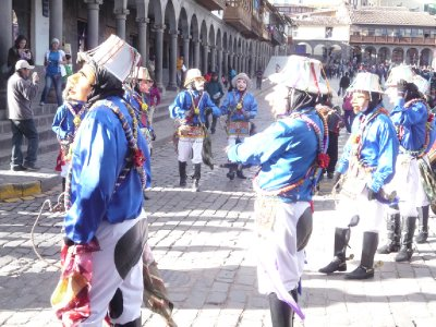 Parades plaza D'Armas