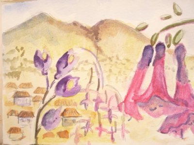 Flowers of Cusco and Macchu Picchu