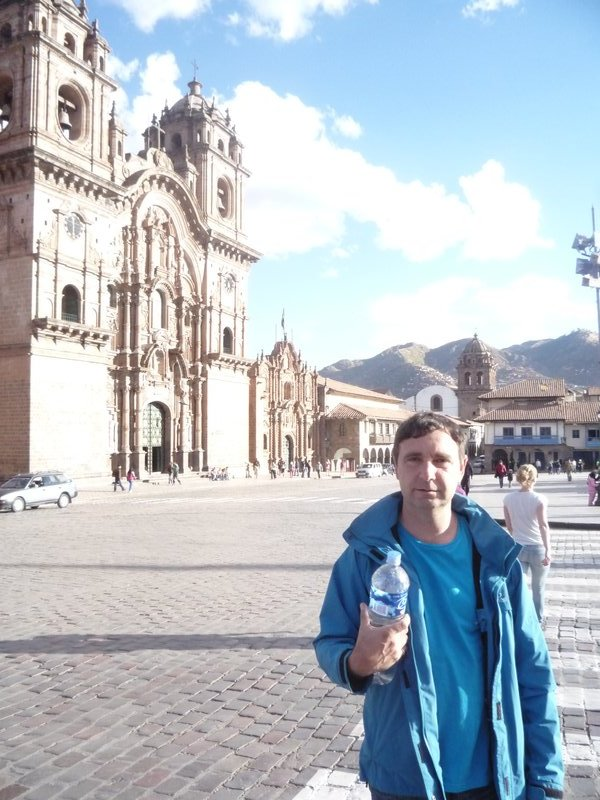 Don in Cusco Plaza de Armas