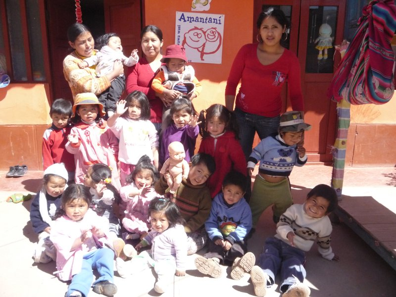 all the children and staff at Cuna Urpichas