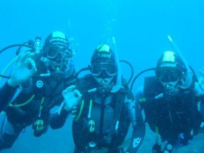 Alles oke onder water!