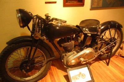 Ché zijn motorcycle