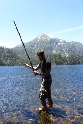 Vissen in laguna El Toro