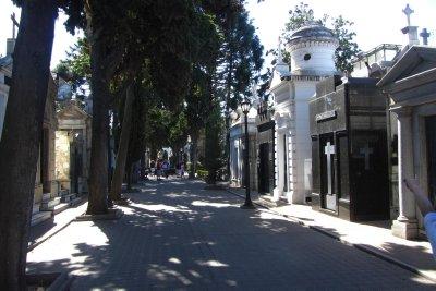 La Recoleta, de beroemde begraafplaats van Buenos Aires.