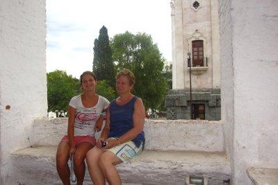 Moeder en dochter bij de Jezuieten