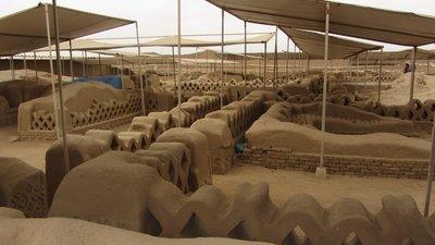 Archeologische site Chan Chan