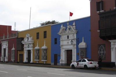 Centrale plein in Trujilo