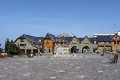 De plaza van Bariloche.