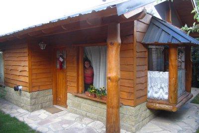 Ons huisje in Bariloche.
