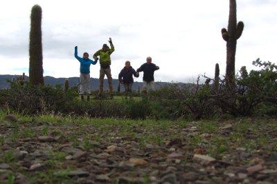 Het cactussenveld!