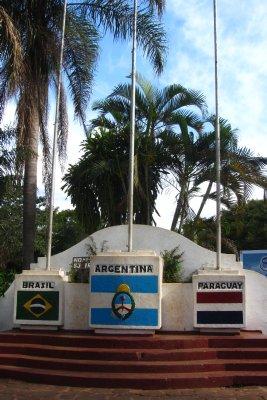 Het drielandenpunt: Brazilie, Argentinie en Paraguay