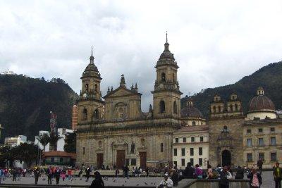Het gigantische centrale plein