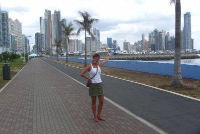 Panama city, de stad waar Veerle al lang naar uitkeek!