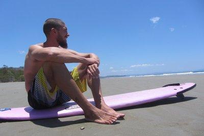 Surfbabe Thijs.