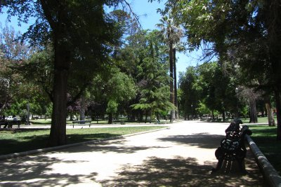 Gezellige parken in Santiago