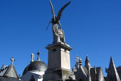 De daken van de graven
