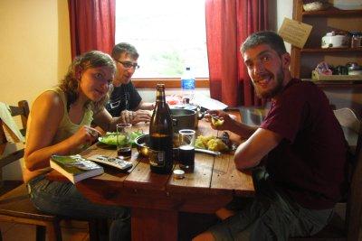 Eten in onze Cabaña!