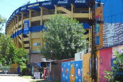 Boca Juniorsstadion!