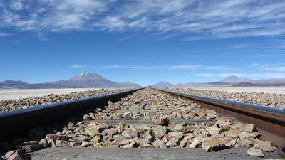 De spoorweg naar Chili.