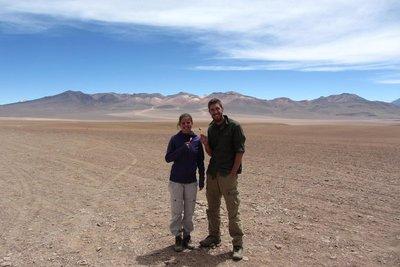 4700m hoge woestijn!