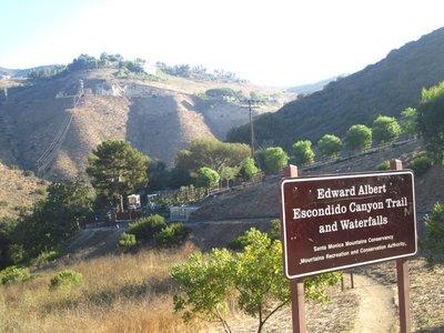 escondido falls hike through the malibu hills