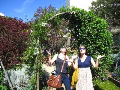 the getty's gardens make you cool