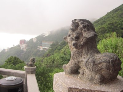 view from victoria peak pagoda