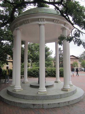 UNC Chapel Hill Fountain
