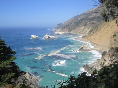 another view from lookout at julia pfeiffer burns state park
