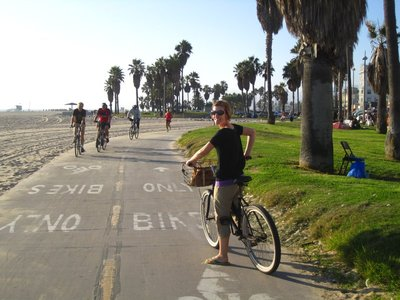 biking in venice