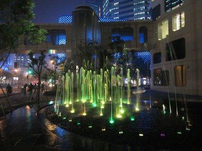 shanghai lights, near shanghai times square