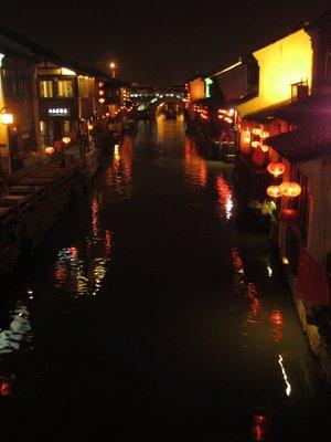 the canal at shantang